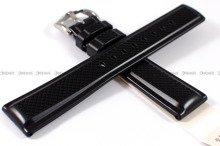 Pasek z naturalnego kauczuku do zegarka - Hirsch Accent 40478850-2-20 - 20 mm