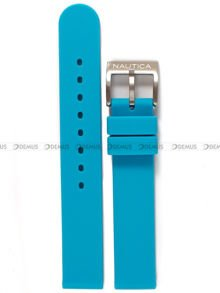 Pasek silikonowy do zegarka Nautica NAI09502MB - 16 mm