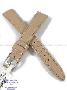 Pasek skórzany do zegarka - Minet MSOUC18 - 18 mm