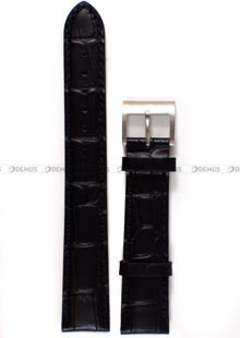 Pasek skórzany do zegarka Nautica A26523L - 18 mm
