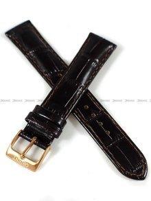 Pasek skórzany do zegarka Orient FAC06001T0 - UDFFMRC - 17 mm
