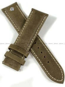 Pasek skórzany do zegarka Roamer 935951 41 24 09 - 22 mm - bez klamerki