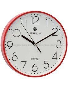 Zegar ścienny Perfect FX-5814 Czerwony - 23 cm