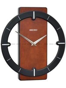Zegar ścienny drewniany Seiko QXA774Z  - 32 cm