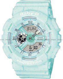 Zegarek Casio Baby G BA 110 1AER Damski, Kwarcowy, Wskazówkowo Elektroniczny