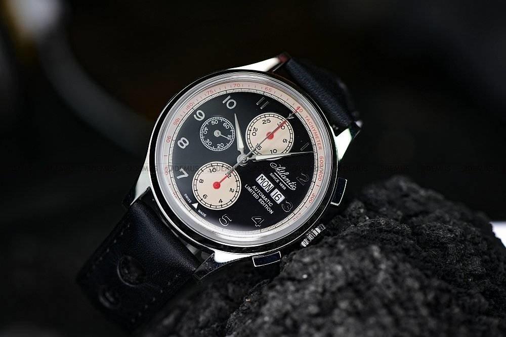 Mechaniczny chronograf Valjoux
