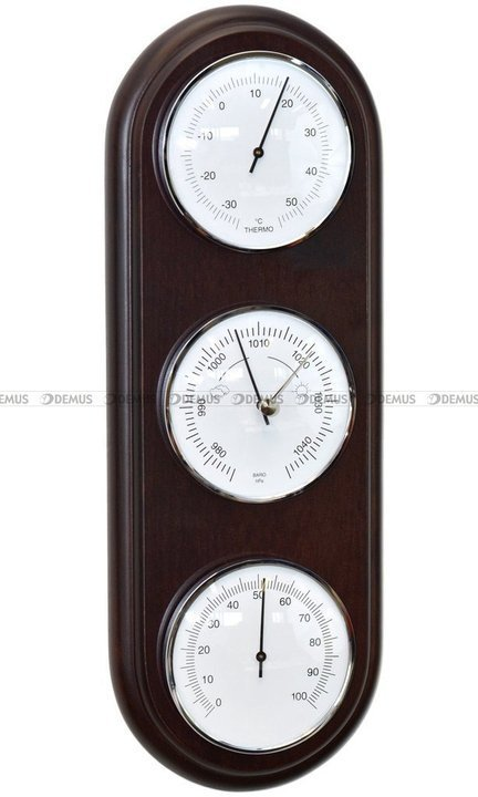 Barometr Termometr Higrometr TFA Owal3D-B-N-010-WENGE