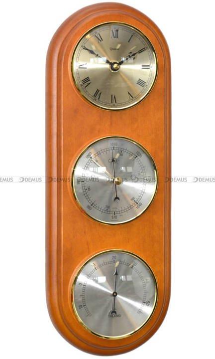 Barometr Termometr Zegar TFA Owal3DZegar-N-06-CA2