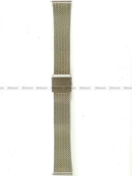 Bransoleta do zegarka Bisset - BBSR.63.16-SR-G - 16 mm