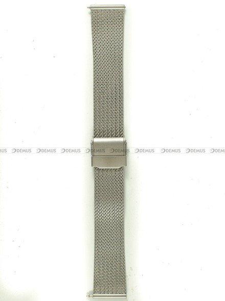 Bransoleta do zegarka Bisset - BBSR.63.18-SR-MAT - 18 mm