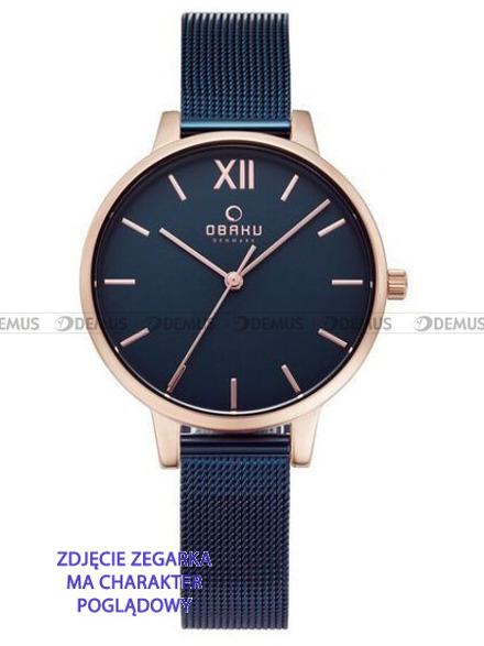 Bransoleta do zegarków Obaku V209L - V209LXVLML - 12 mm