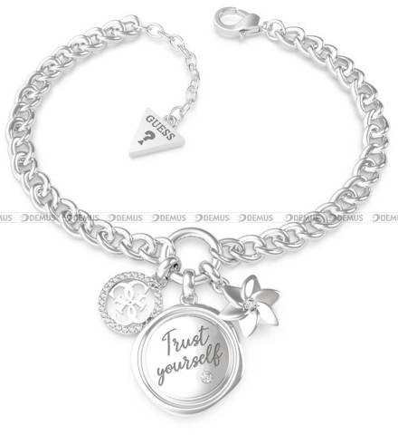 Bransoletka Guess - Guess My Feelings UBB70051-S