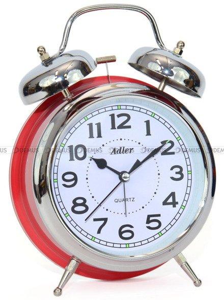 Budzik wskazówkowy Adler 40133-S-R Retro z dzwonkami
