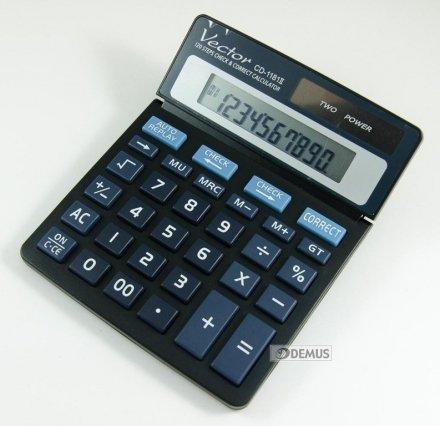 Kalkulator biurowy Vector CD-1181II