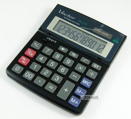 Kalkulator biurowy Vector DK-215