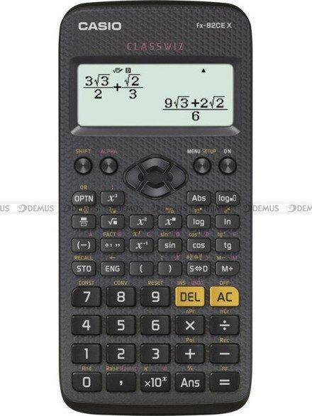 Kalkulator naukowy Casio ClassWiz FX-82CEX