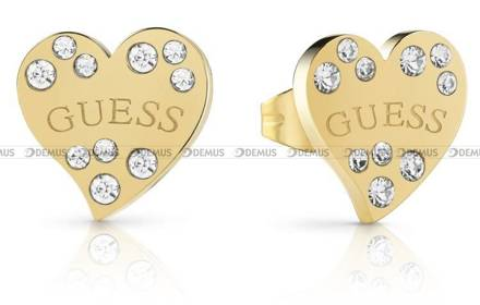 Kolczyki Guess - Heart Warming UBE78052