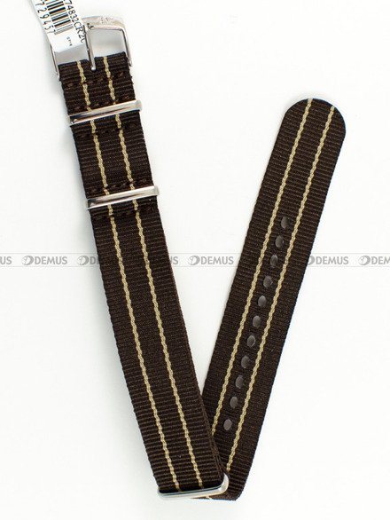 Pasek bawełniany do zegarka - Morellato A01U3972A74832 - 20 mm