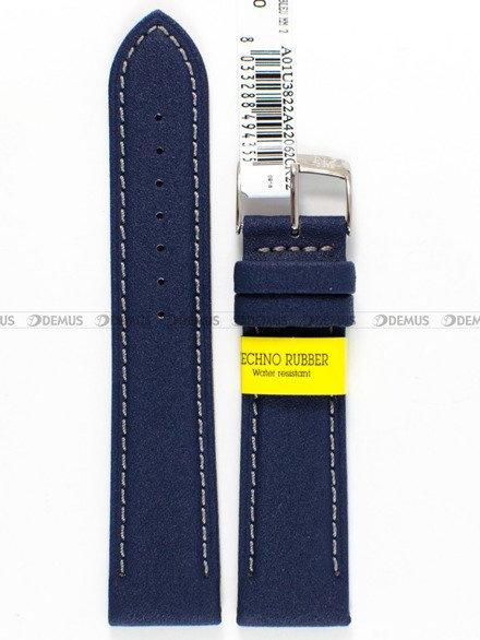 Pasek do zegarka gumowy - Morellato A01U3822A42062.22 mm