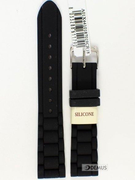 Pasek do zegarka silikonowy - Morellato A01X4410187019 18mm