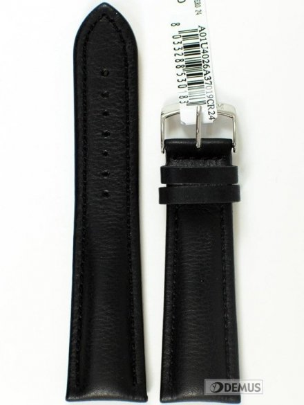 Pasek do zegarka skórzany - Morellato A01U4026A37019 24mm