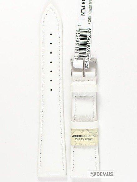 Pasek do zegarka skórzany - Morellato A01X4219A97017 20 mm