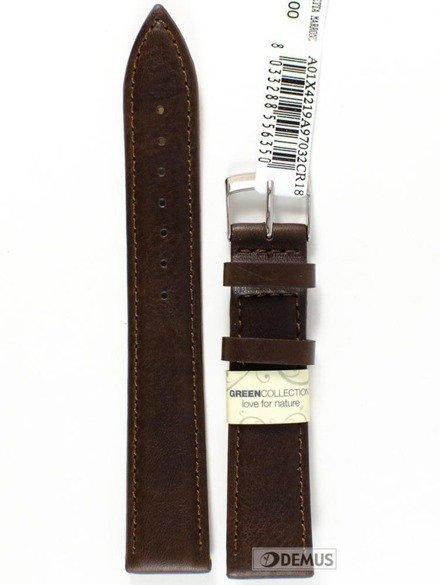 Pasek do zegarka skórzany - Morellato A01X4219A97032 18 mm