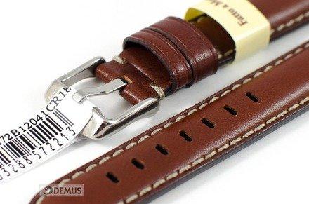 Pasek do zegarka skórzany - Morellato A01X4272B12041 18 mm