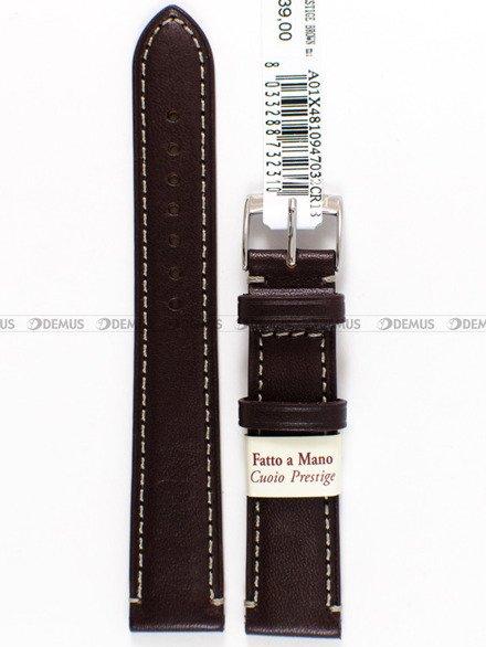 Pasek do zegarka skórzany - Morellato A01X4810947032 - 18 mm