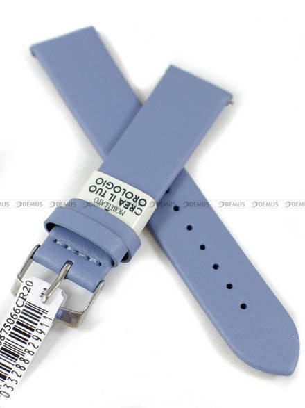 Pasek do zegarka skórzany - Morellato A01X5200875066CR20 - 20 mm