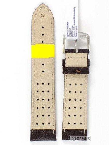 Pasek do zegarka skórzany wodoodporny - Morellato A01U3459237034 22 mm