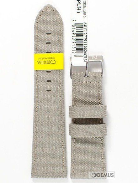 Pasek do zegarka wodoodporny - Morellato A01U2779110026 24 mm