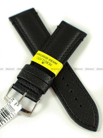 Pasek do zegarka wodoodporny skórzany - Morellato A01X4909C18819CR24 24 mm