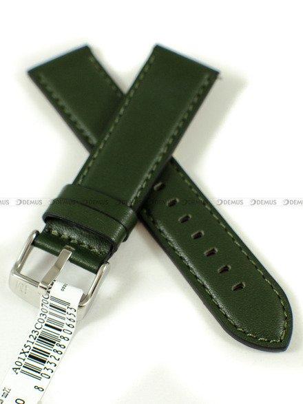 Pasek do zegarka wodoodporny skórzany - Morellato A01X5123C03070CR22 - 22 mm