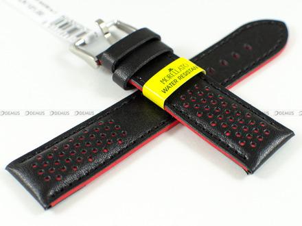 Pasek do zegarka wodoodporny skórzany - Morellato A01X5272C91183CR22 - 22 mm