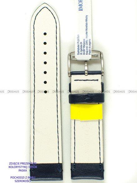 Pasek do zegarka wodoodporny skórzany - Morellato A01X5274C91062CR20 - 20 mm
