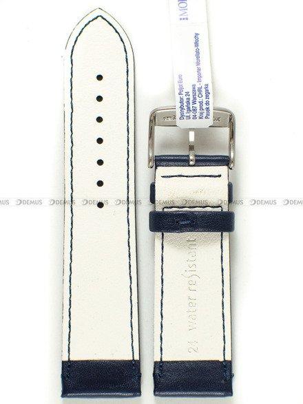 Pasek do zegarka wodoodporny skórzany - Morellato A01X5274C91062CR24 24 mm