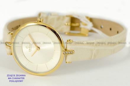 Pasek do zegarków Obaku V168L - V168LEGGRX - 10 mm