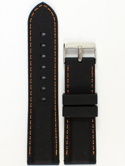 Pasek gumowy do zegarka Chermond PG1.24MM.1.5