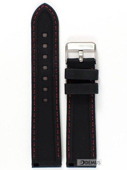 Pasek gumowy do zegarka JVD PG1.22MM.1.4