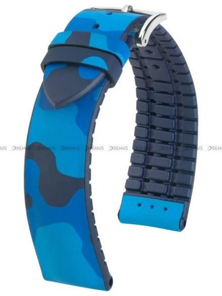 Pasek kauczukowy do zegarka - Hirsch John 0928088080-2-20 - 20 mm - L