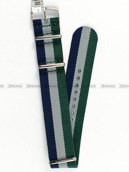 Pasek materiałowy do zegarka - Morellato A01U3972A74878 - 22 mm