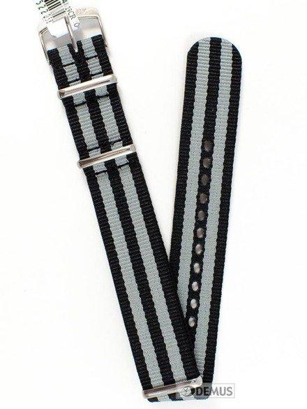 Pasek nylonowy do zegarka - Morellato A01U3972A74819 20 mm