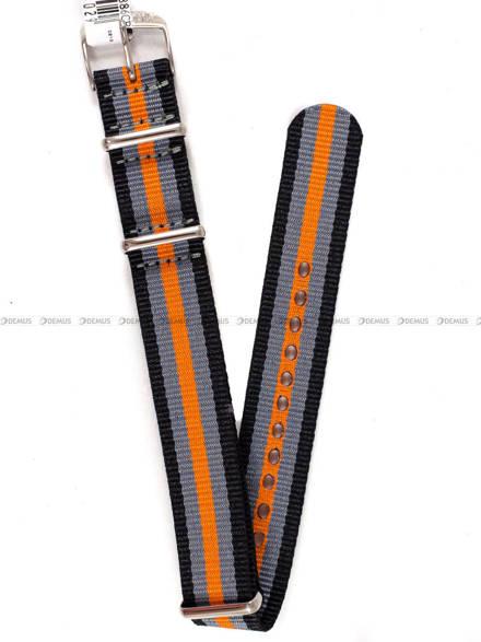 Pasek nylonowy do zegarka - Morellato A01U3972A74886 18 mm