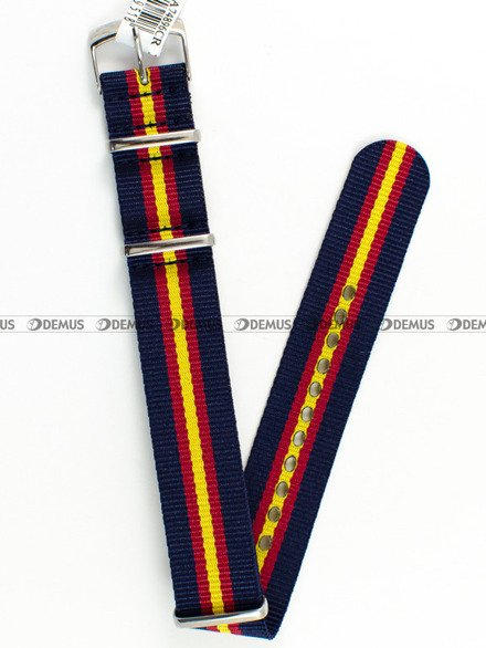 Pasek nylonowy do zegarka - Morellato A01U3972A74896 18 mm