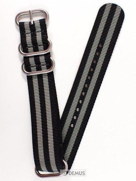 Pasek nylonowy do zegarka - Nato PN3.22.1.11 - 22 mm