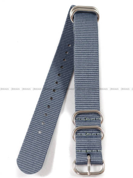 Pasek nylonowy do zegarka - Nato PN4.18.11 - 18 mm