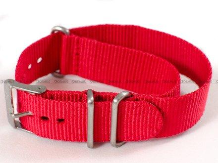 Pasek nylonowy do zegarka Nautica A09920GSR - 20 mm