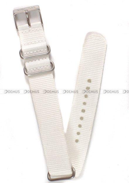 Pasek nylonowy do zegarka Nautica A09920GSW - 20 mm