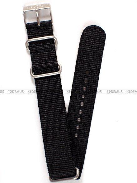 Pasek nylonowy do zegarka Nautica A09921GSB - 20 mm